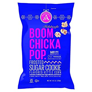 Angie's BOOMCHICKAPOP Frosted Sugar Cookie Flavored Kettle Corn, 4.5 oz.