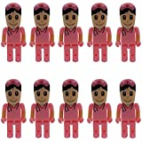 Pink nurse 2.0 usb flash drives for hospital for nurse (10 pack) 8GB USB 2.0 Flash Drive Bulk Thumb Drives Jump Drive Zip Drive Memory Sticks with Led Indicator