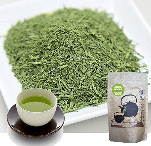 Japanese Fukamushi Sencha Green Tea and Matcha Powder Blend 100g by Chado Tea House
