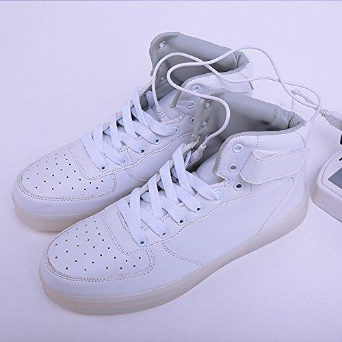 Chaussures DoGeek Lumineuse Basket Led Lumi EEqr5gxn
