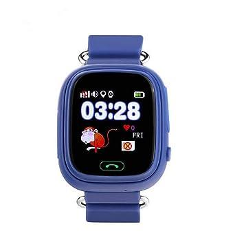 Amazon.com: Zerama Q90 GPS Kid Smart Watch Baby Anti-Lost ...