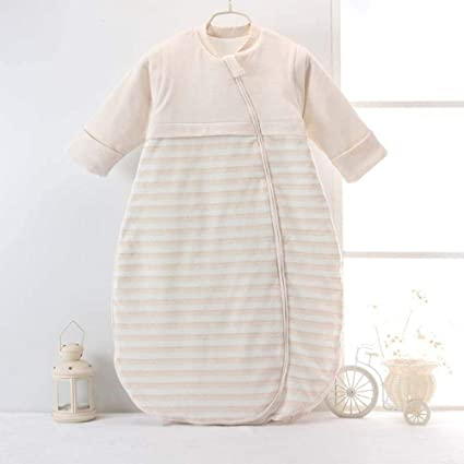 Gleecare Saco de Dormir para bebé,Son de algodón otoño Invierno algodón Color orgánico Lana