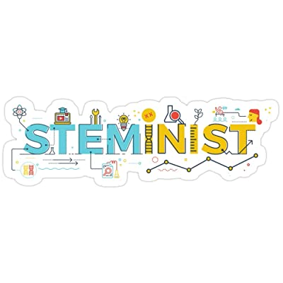 Vijk kor Steminist Stickers (3 Pcs/Pack): Kitchen & Dining
