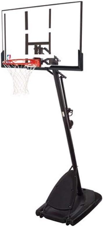 Spalding- Canasta de Baloncesto portátil de 54 Pulgadas de ...