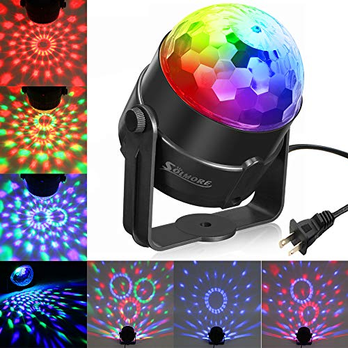 Rotating Disco Ball Led Lights in US - 6