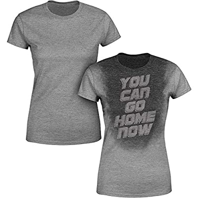 Sweat Activated Women's Gym Shirt | You Can Go Home Now | Fitness Workout