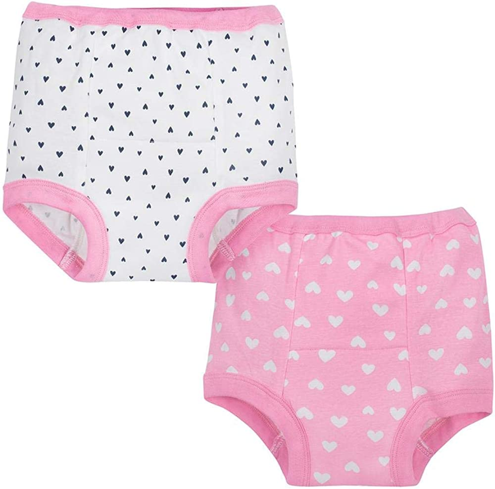 Gerber Baby Girls' 4-Pack Training Pant