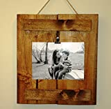 Reclaimed Wood Frame, Photo Clipboard, 4X6 or 5X7 Review