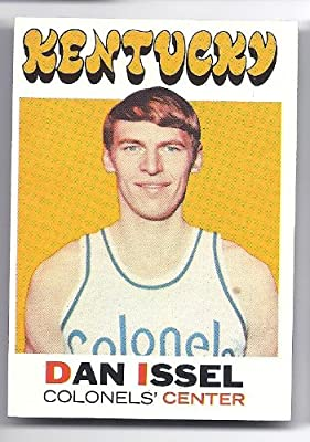 DAN ISSEL 1971-72 Topps #200 Rookie Card RC Kentucky Colonels ABA Basketball