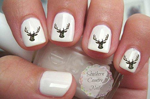 Camo Deer Nail Art Decals Gorgeous (Deer Nail Decals)