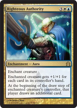 Free Magic: the Gathering - Righteous Authority - Return to Ravnica