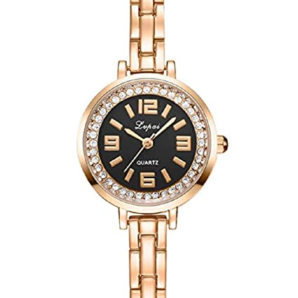 Women Quartz Watches, Windoson Big Female Watches Crystal Diamond Lady Watches Stainless Steel Watch Girl