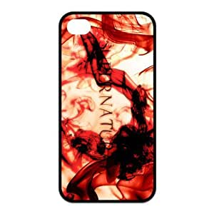 iPhone 4/4S Case, Supernatural Hard TPU Rubber Snap-on Case for iPhone 4 / 4S