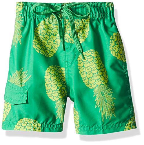 - Kanu Surf Big Boys' Specter Quick Dry Beach Swim Trunk, Pina Green, Small (8)
