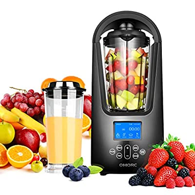 OMORC Smoothie Blender, Portable Juicer Blender with 900W and 18000RPM High Speed Motor, BPA-Free Household Fruit Mixer, Includes 2 Large Portable Tritan Travel Cups 32oz/18oz