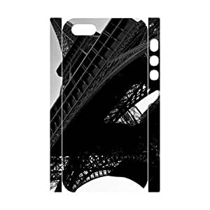 3D Architecture 26 IPhone 5,5S Case, Fashionable Case Cell Phone Case for Iphone 5s Okaycosama {White}