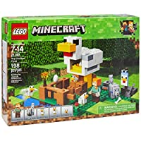 Deals on LEGO Minecraft the Chicken Coop 21140 Building 198 Piece