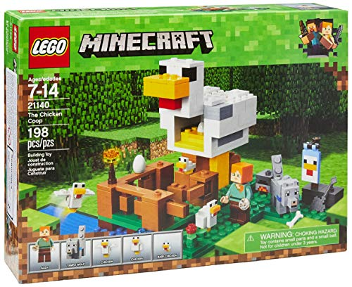 LEGO Minecraft The Chicken Coop 21140 Building Kit (198 Piece) (Cake Designs For 18 Year Old Boy)