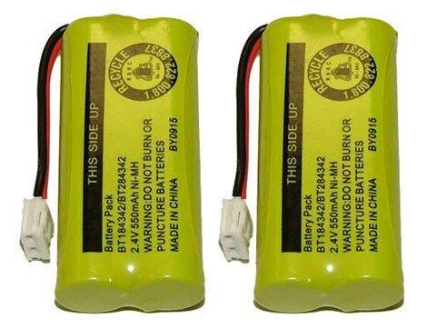 for Vtech 8300 / BATT-6010 / BT18433 / BT184342 / BT28433 / BT284342 / 89-1326-00-00 / CPH-515D (2-Pack, Bulk Packaging) (Vtech Ls6204 Accessory Handset)