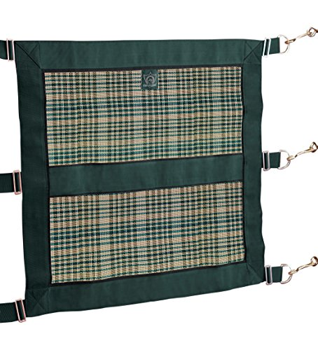 Kensington Door Guard for Horses — Designed to Keep Horse Securely in Stall in Style — Adjustable Straps and Hardware (Horse Stall Guard)