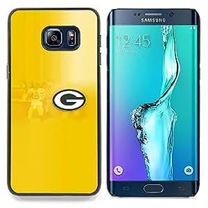 """Qstar Arte & diseño plástico duro Fundas Cover Cubre Hard Case Cover para Samsung Galaxy S6 Edge Plus / S6 Edge+ G928 (GRAMO"""")"""