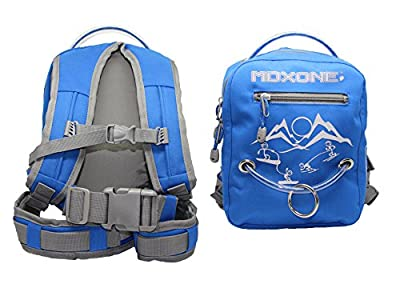 MDXONE Kids Snowboard Ski Harness Trainer with Retractable Leash and Absorb bungees