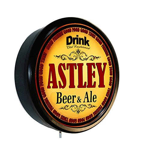 ASTLEY Beer and Ale Cerveza Lighted Wall Sign
