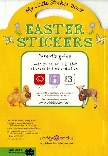 My Little Sticker Book Easter