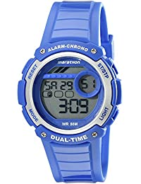 Unisex TW5K85000M6 Marathon Digital Display Quartz Blue Watch