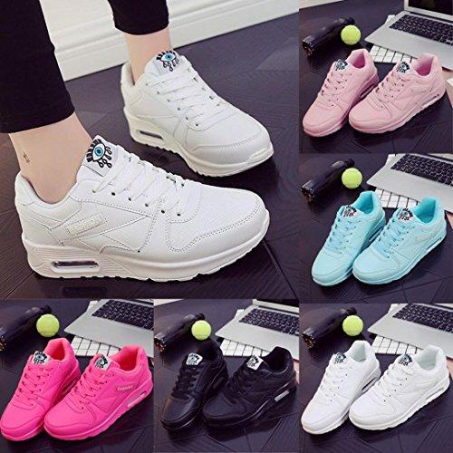 Lacets Sportwear Semelle Overdose Chaussures Épaisse Baskets Compensées Casual Blanc Femme Cuir Automne Plates Sneakers En À Hiver pHx78wUqX