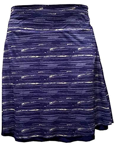 Colorado Clothing Tranquility 21'' Print/Solid Reversible Skirt (XX-Large, Cobalt Paint) by Colorado Clothing
