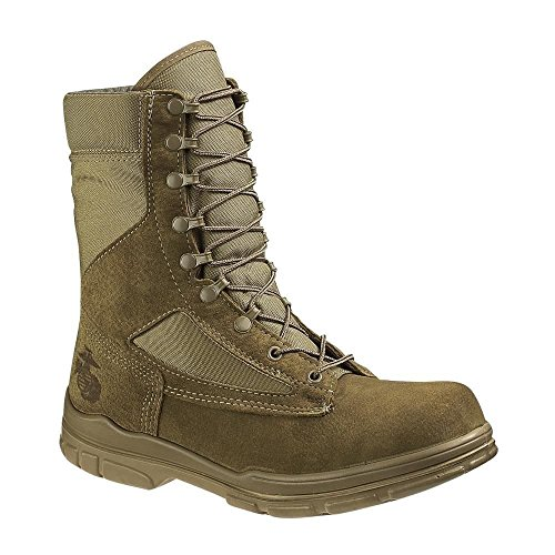 Bates Women's USMC Lightweight DuraShocks Military & Tactical Boot Olive Mojave 7.5 M US