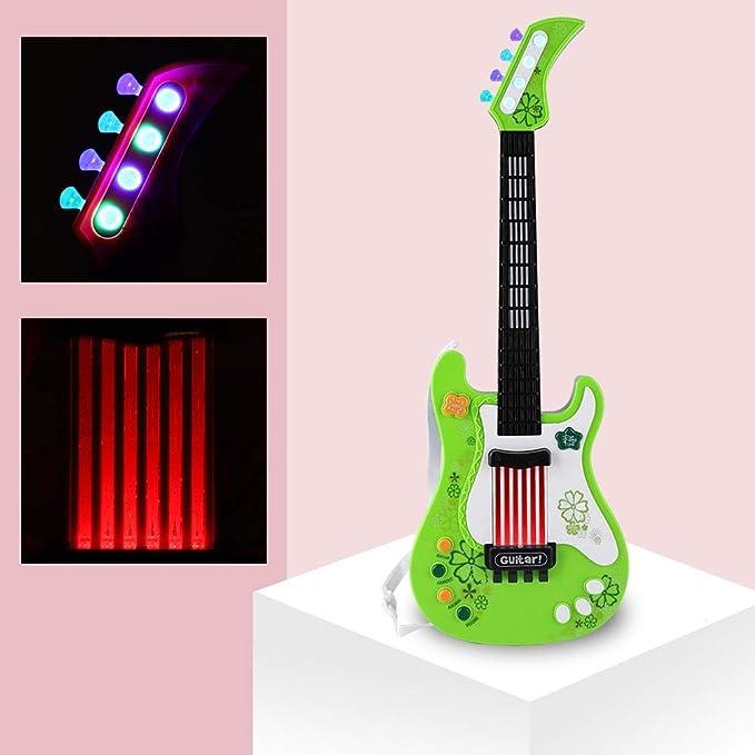 VGEBY1 Juguete para Guitarra, niños multifuncionales Guitarra Baja ...