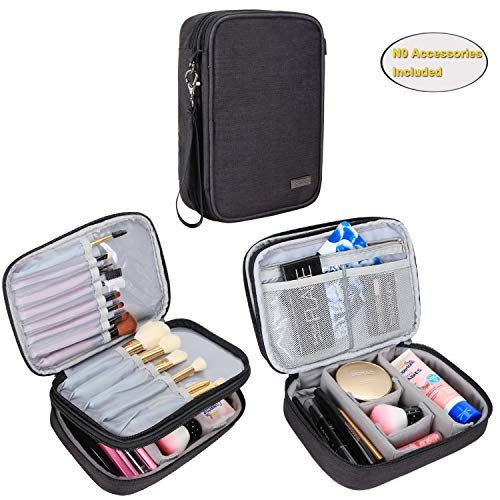 Teamoy Travel Makeup Brush Case, Professional Makeup Train O