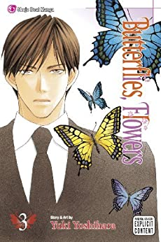 Butterflies, Flowers, Vol. 3 by [Yoshihara, Yuki]