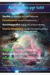 Astronomia per tutti: volume 6 (Italian Edition) Kindle Edition