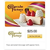 The Cheesecake Factory Gift Cards - E-mail Delivery