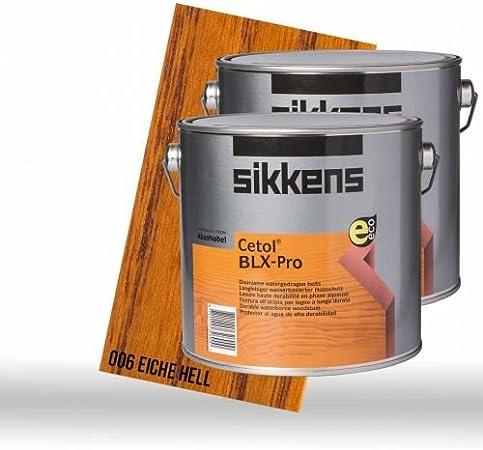 2 x Sikkens Cetol BLX de Pro roble claro 2,5L: Amazon.es ...