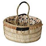 NOVICA Beige Natural Fiber Handbag, 'Shopping Basket'