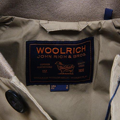 Beige Cotton Bomber Jacket Woolrich E7214 Giubbotto Uomo Men Summer nxWYXzqB