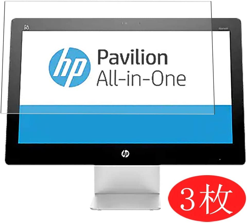 "【3 Pack】 Synvy Screen Protector for HP Pavilion 22-a100 All-in-One AIO / a113w / a151la / a109 21.5"" TPU Flexible HD Film Protective Protectors [Not Tempered Glass]"
