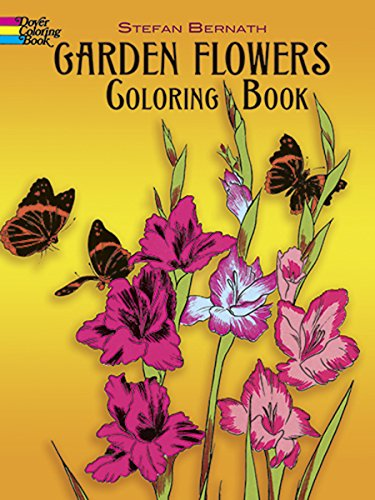 Price comparison product image Garden Flowers Coloring Book (Dover Nature Coloring Book)