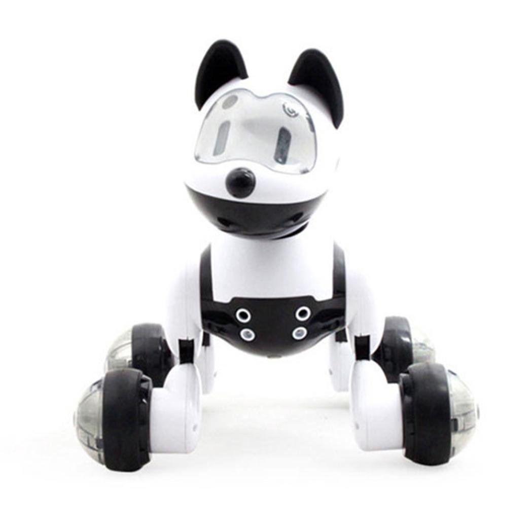 Voice Recognition Intelligent Electronic Puppy Dog Toy,NOMENI Intelligent Electronic Kids Gift Dog Puppy,Music Shine Action Toy