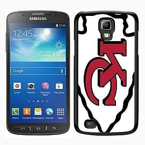 Kansas City Chiefs Black Personalized Photo Custom Samsung Galaxy S4 Active Cover Case