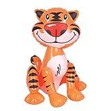 Rhode Island Novelties - Inflatable Tiger - Orange