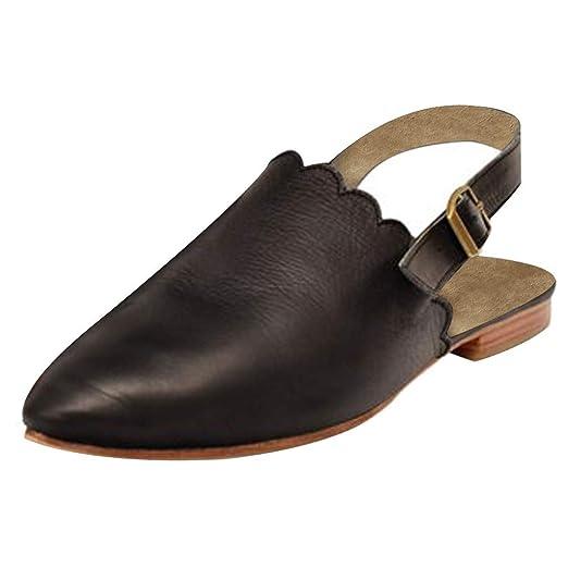 f6f937b7713f8 Amazon.com: Cenglings Sandals,Women's Pointed Toe Slingback Sandals ...