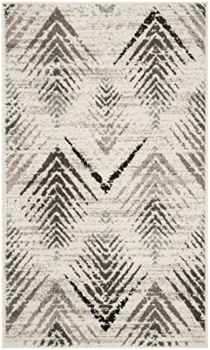 Safavieh Amsterdam Collection Cream and Beige Area Rug, 4 x 6