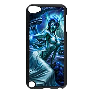 iPod Touch 5 Phone Case Black League of legends-Morgana NLG7798743