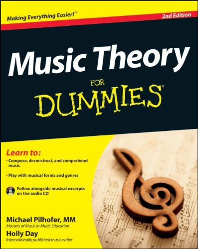 Elementary Music Theory Book (Music Theory For Dummies, with Audio CD)