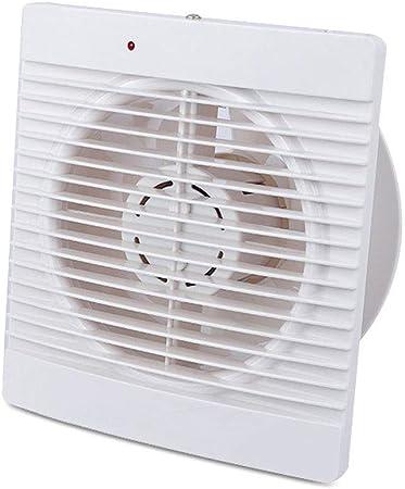 WENWEN Ventilador de Escape Ventilador silencioso Fuerte Ventilador Cuadrado de Ahorro de energía Ventilador de baño WC Extractor con válvula de retención Ventilador de ventilación: Amazon.es: Hogar